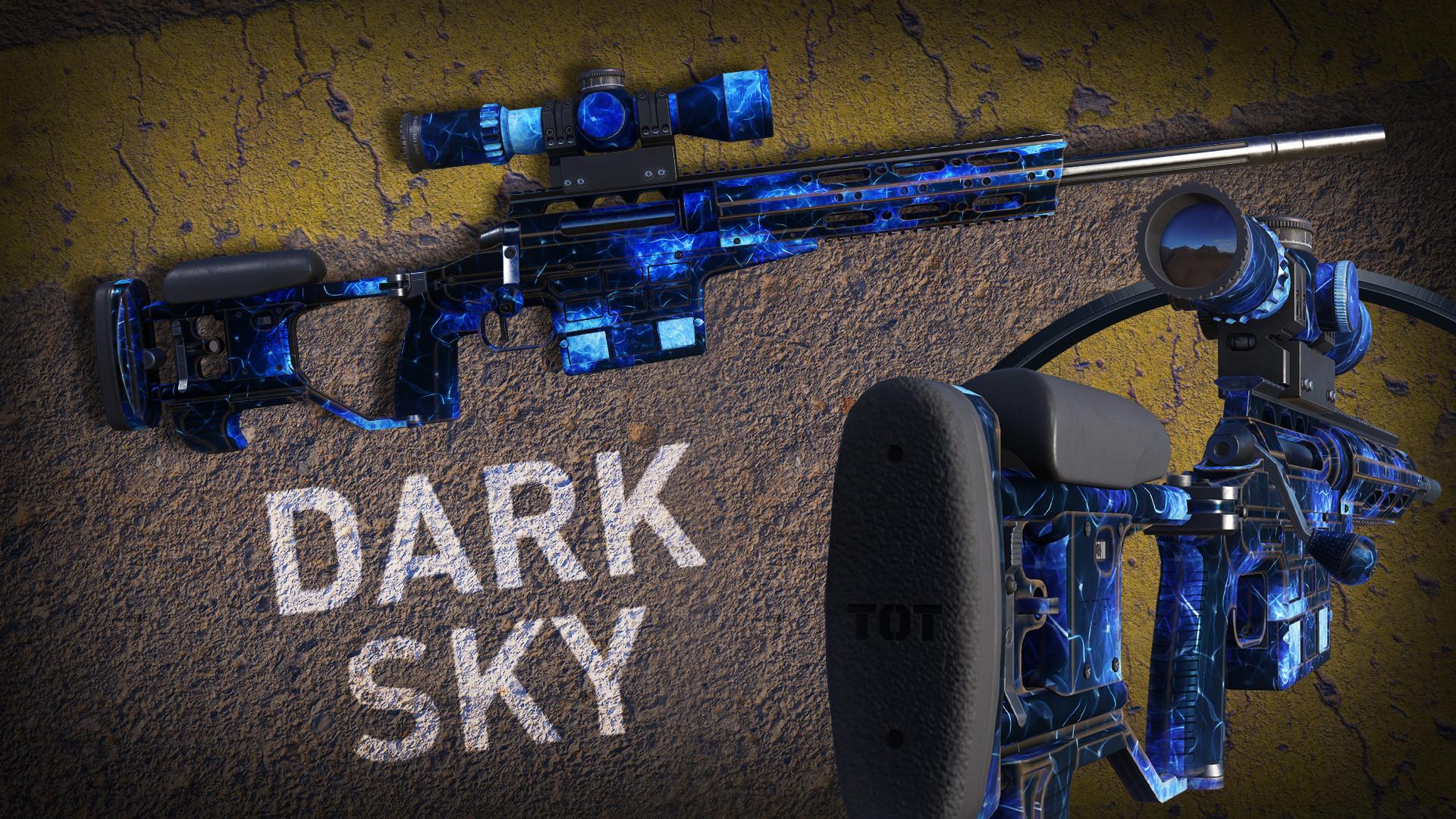 Sniper Ghost Warrior Contracts 2 - Dark Sky Skin