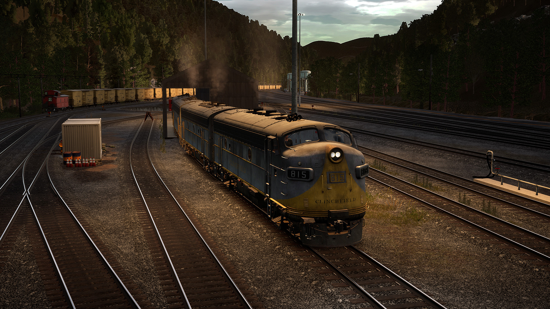Train Sim World 2: Clinchfield Railroad: Elkhorn - Dante Route Add-On