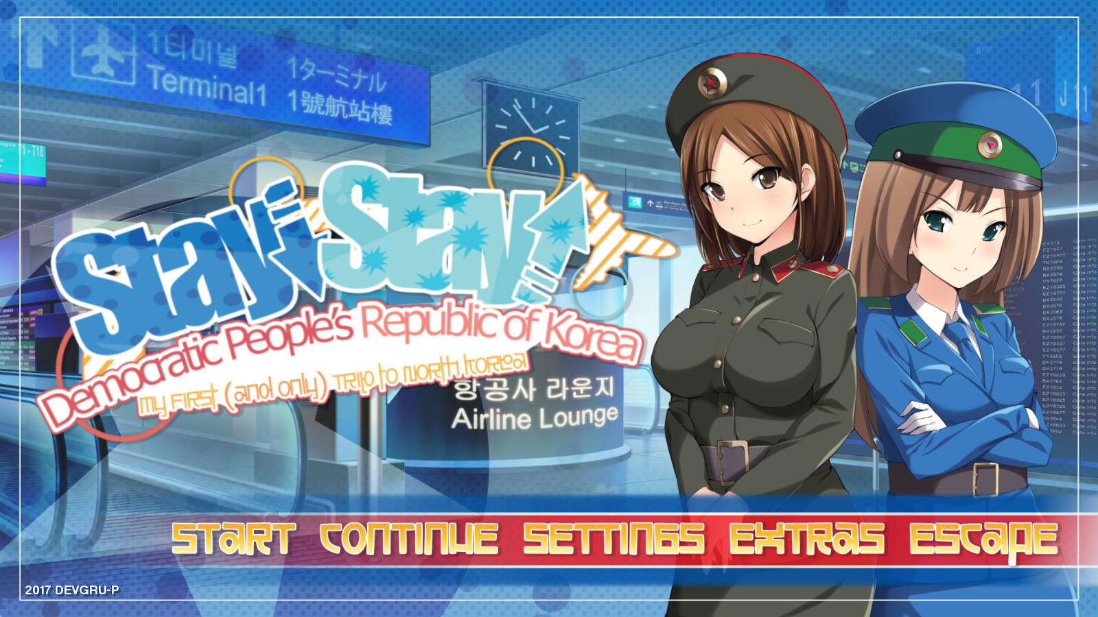 Stay! Stay! Democratic People's Republic of Korea!