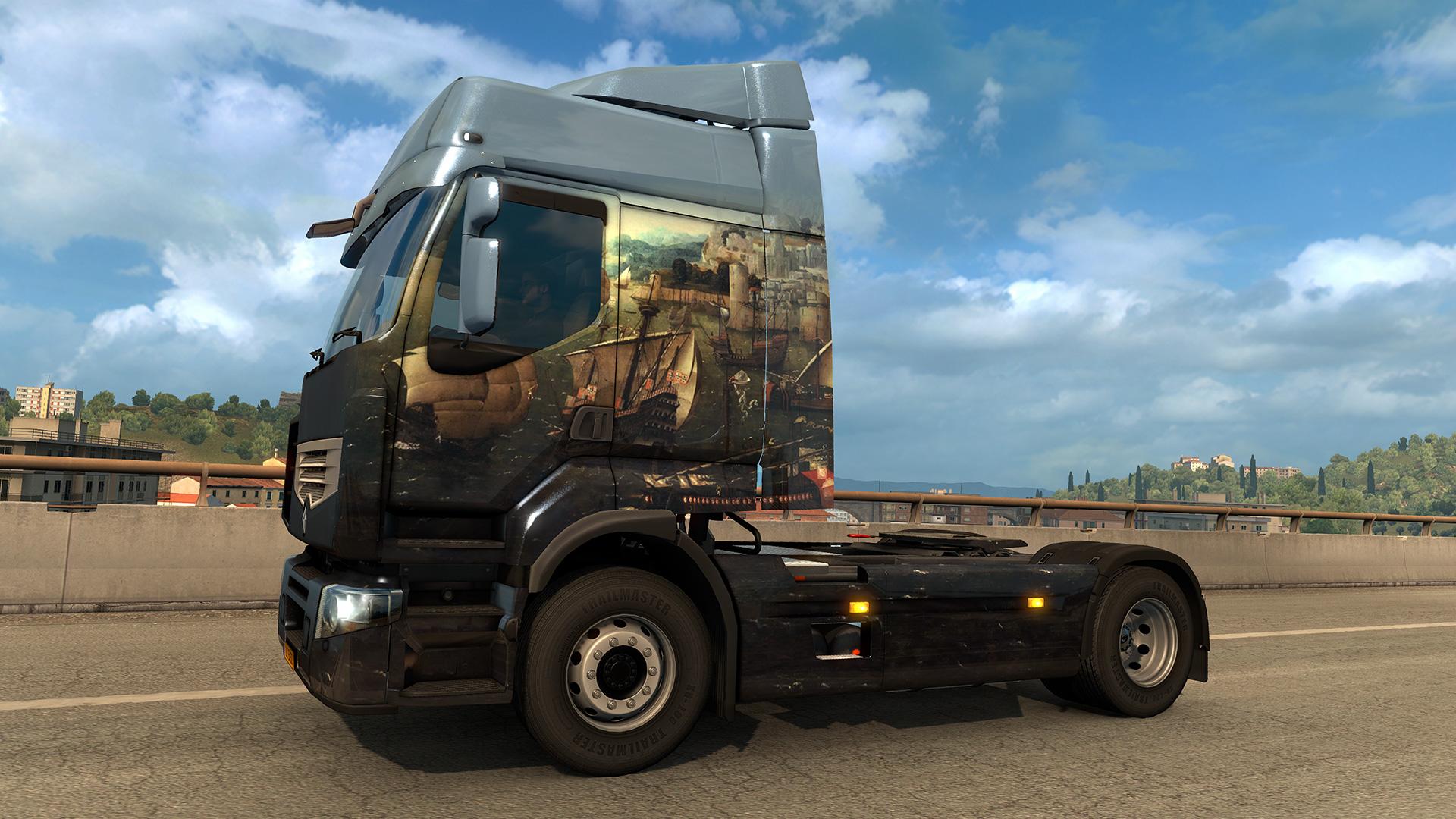Euro Truck Simulator 2 - Portuguese Paint Jobs Pack