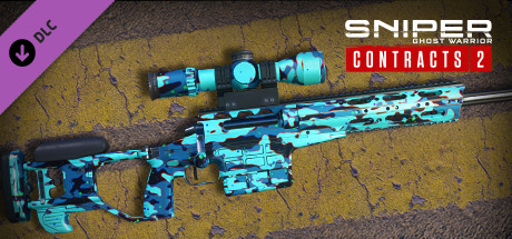 Sniper Ghost Warrior Contracts 2 - Graffiti Glow Skin