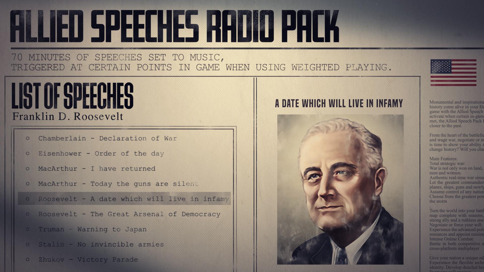 Hearts of Iron IV: Allied Speeches Music Pack Fiyat Karşılaştırma