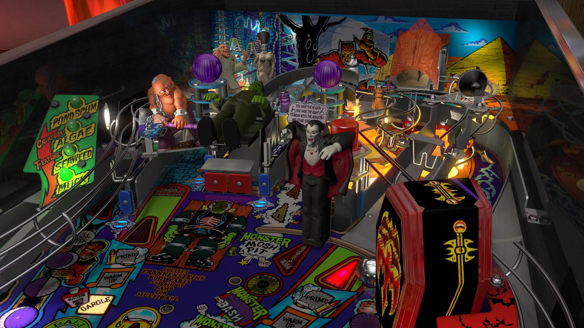 Pinball FX3 - Williams™ Pinball: Universal Monsters Pack PC Key Fiyatları