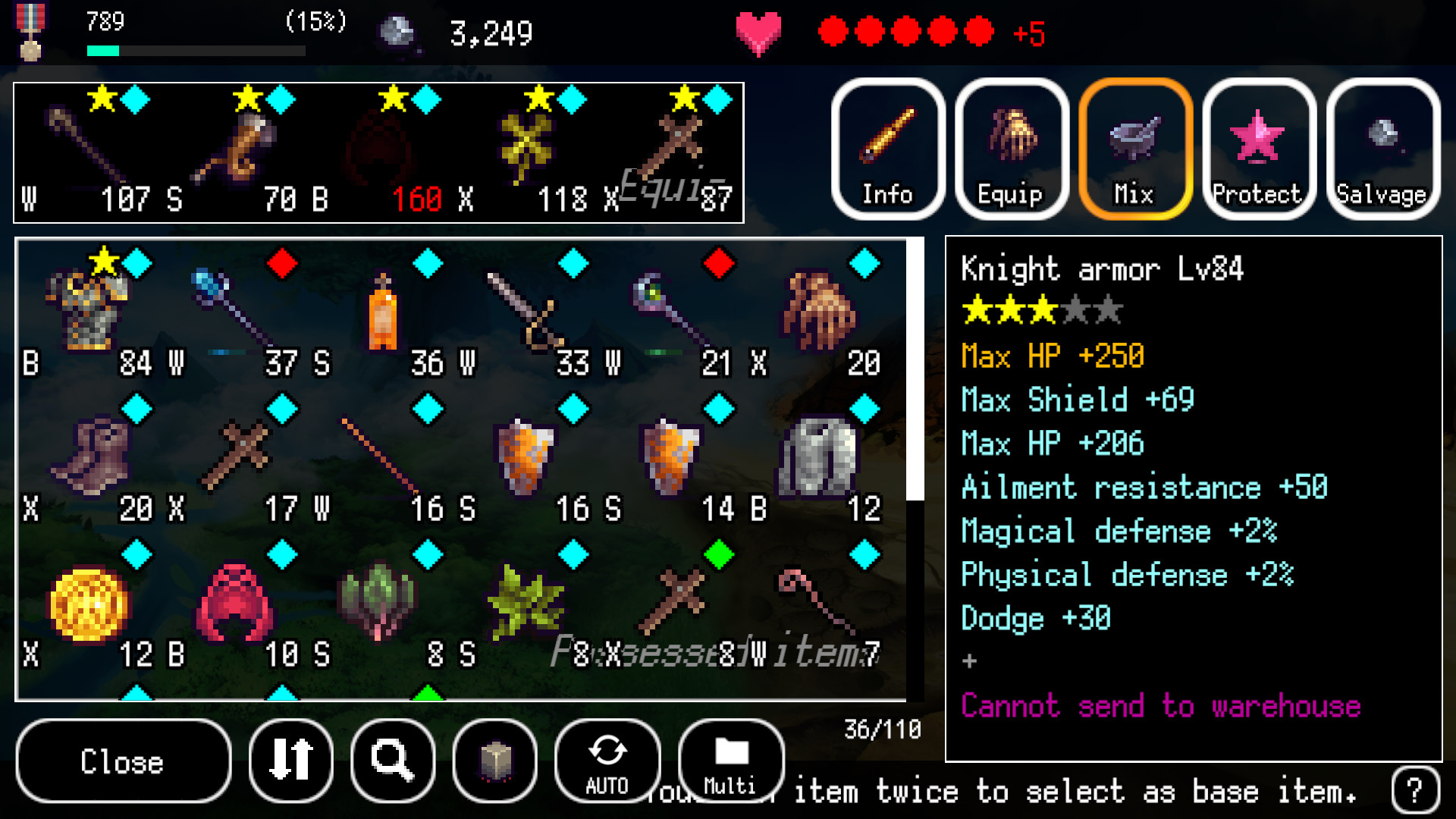 B100X - Auto Dungeon RPG