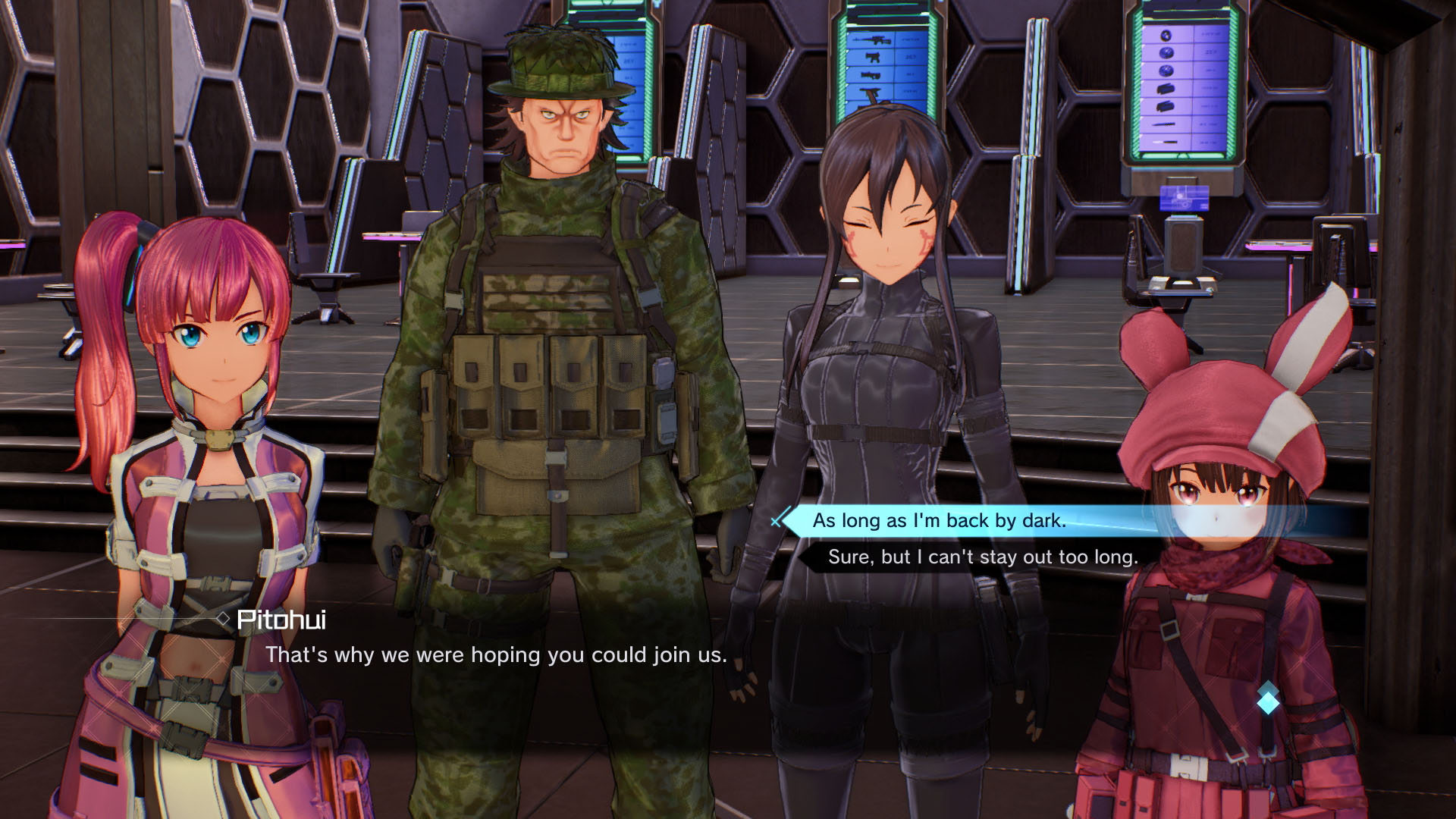 Sword Art Online: Fatal Bullet - Dissonance Of The Nexus Expansion