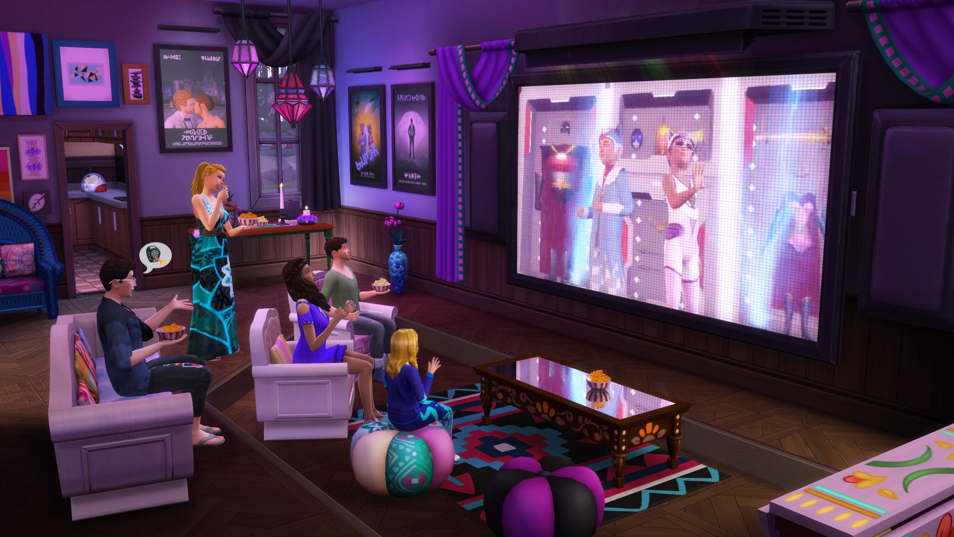 The Sims™ 4 Movie Hangout Stuff PC Key Fiyatları