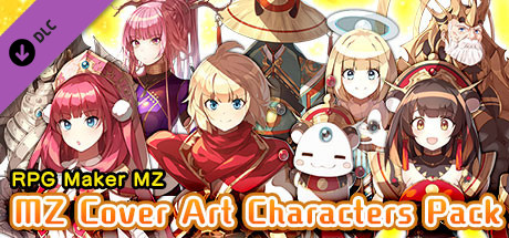 RPG Maker MZ - MZ Cover Art Characters Pack