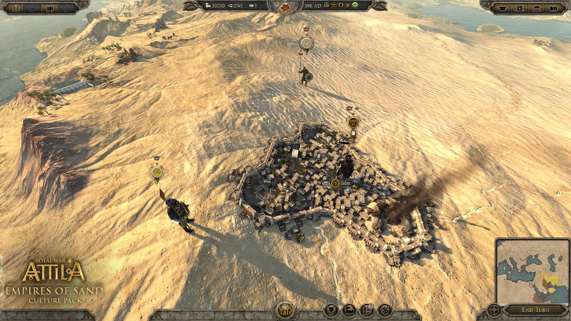 Total War: ATTILA - Empires of Sand Culture Pack PC Key Fiyatları