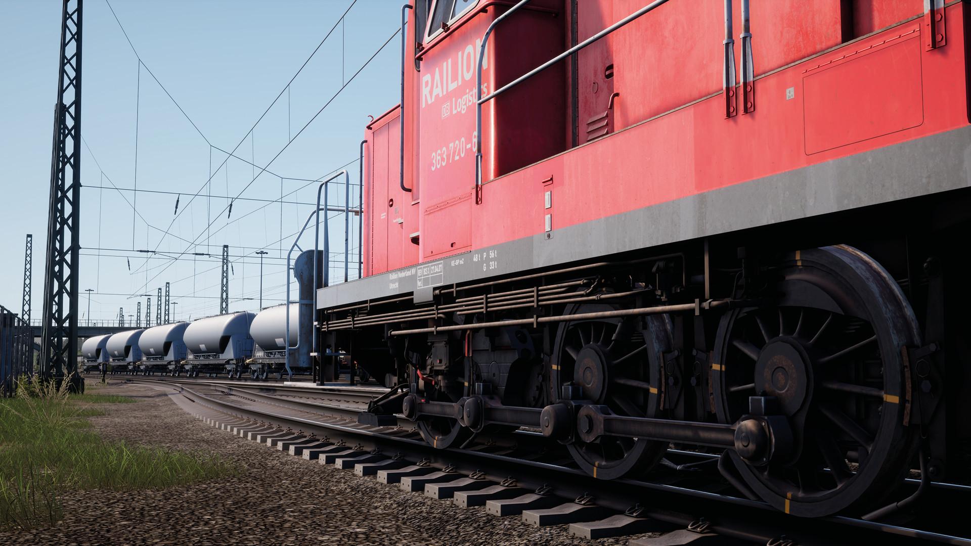 Train Sim World® 2: DB BR 363 Loco Add-On