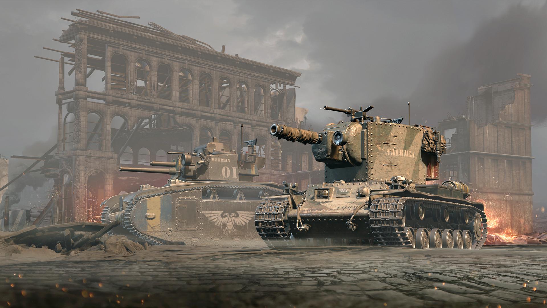 World of Tanks - Warhammer 40,000 Themed Pack PC Key Fiyatları