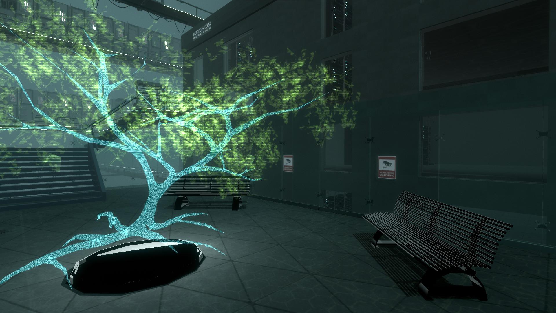 Silicon Dreams  |  cyberpunk interrogation