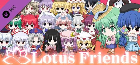 """追加パートナー「Lotus Friends」/ 同伴角色「Lotus Friends」 / Added Partners """"Lotus Friends"""" /   (Touhou Genso Wanderer -Lotus Labyrinth R-)"""