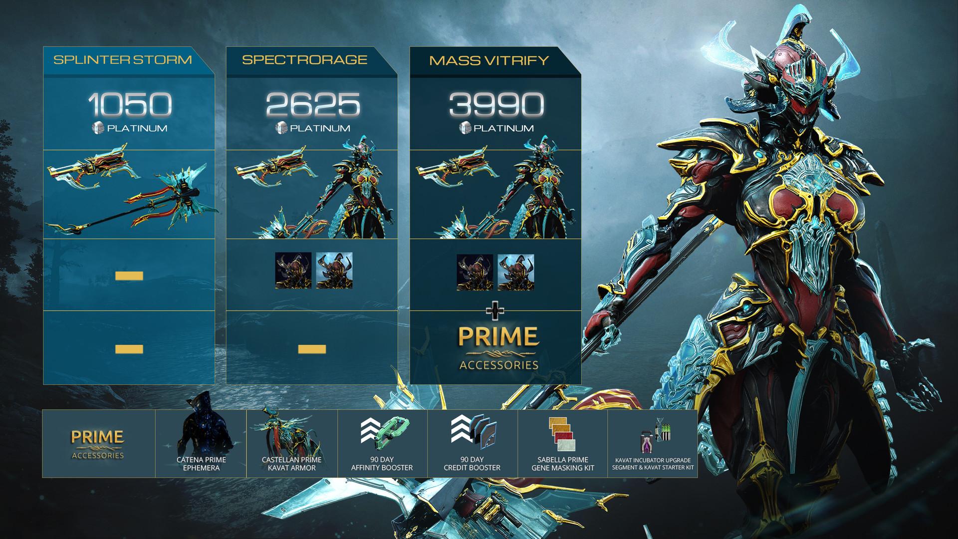 Warframe Gara Prime Access: Spectrorage Pack PC Fiyatları
