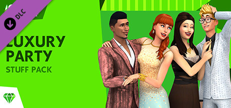 The Sims™ 4 Luxury Party Stuff