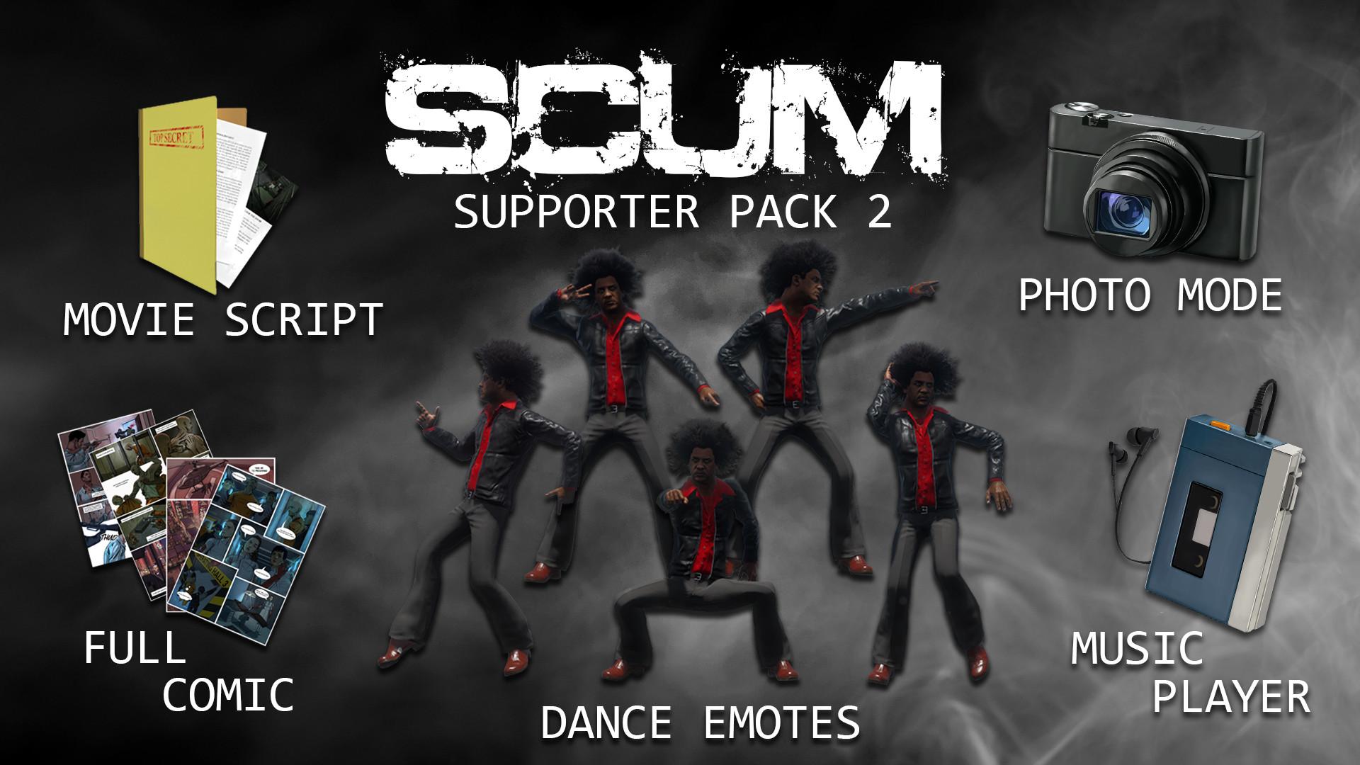 SCUM Supporter Pack 2