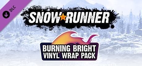 SnowRunner - Burning Bright Vinyl Wrap Pack