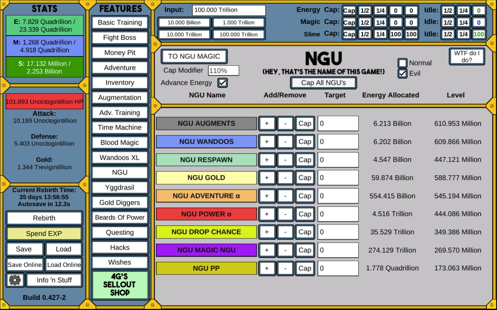 NGU IDLE PC Key Fiyatları