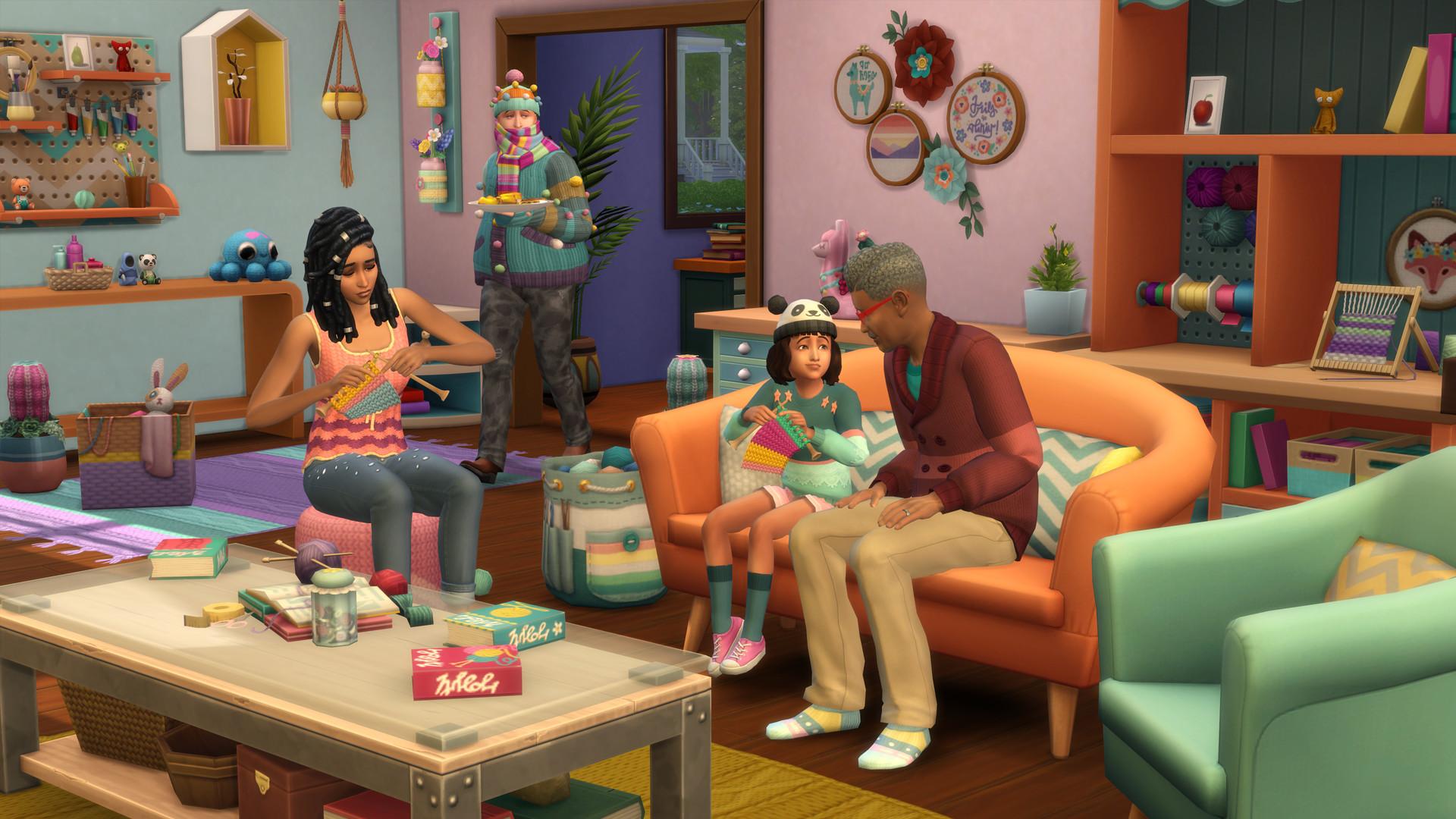 The Sims™ 4 Nifty Knitting Stuff Pack PC Key Fiyatları