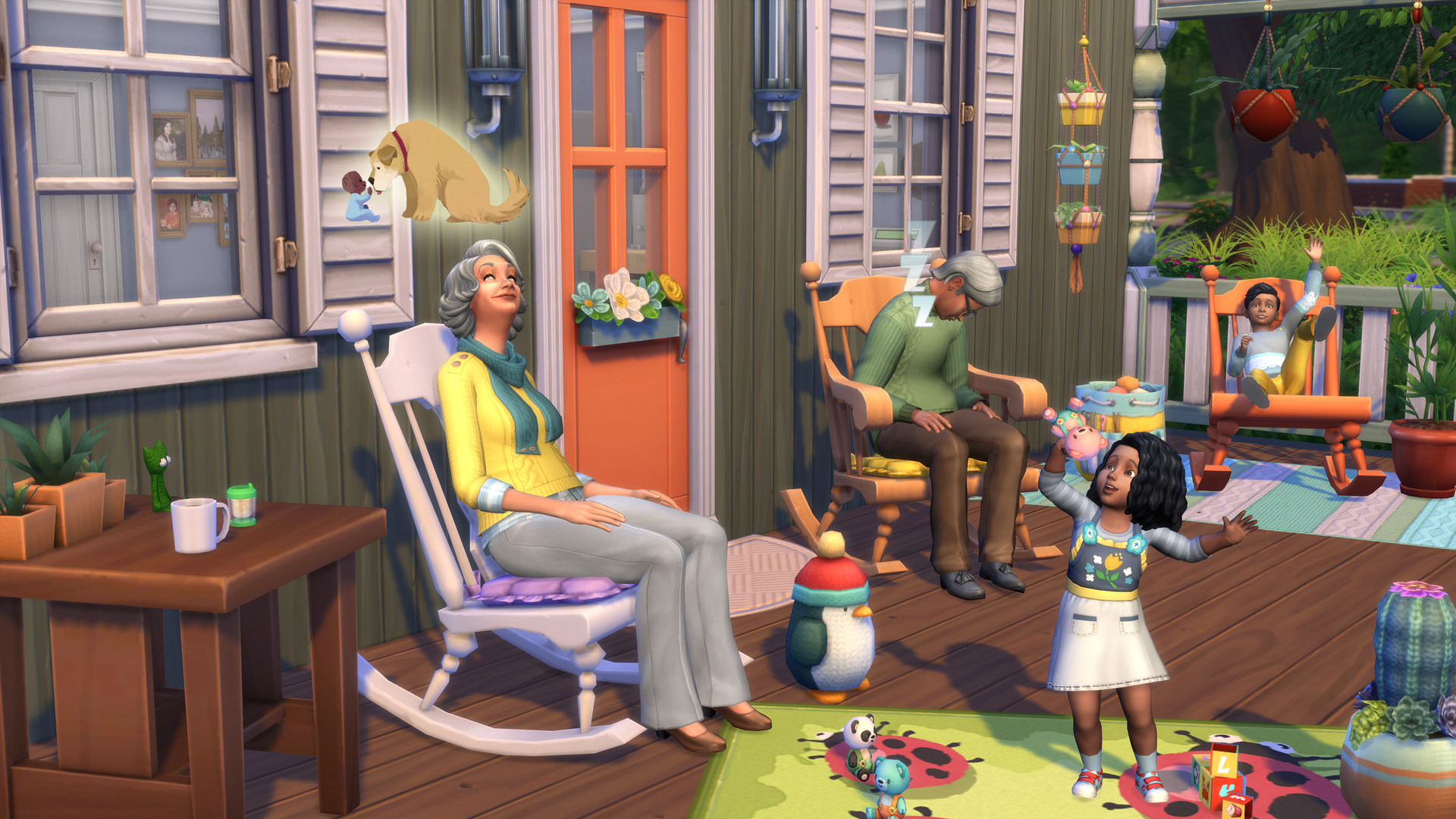 The Sims™ 4 Nifty Knitting Stuff Pack