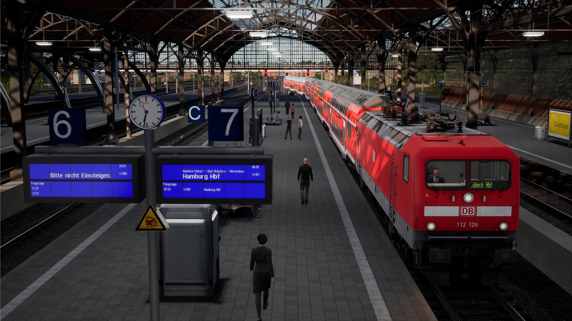 Train Sim World 2: Hauptstrecke Hamburg - Lübeck Route Add-On