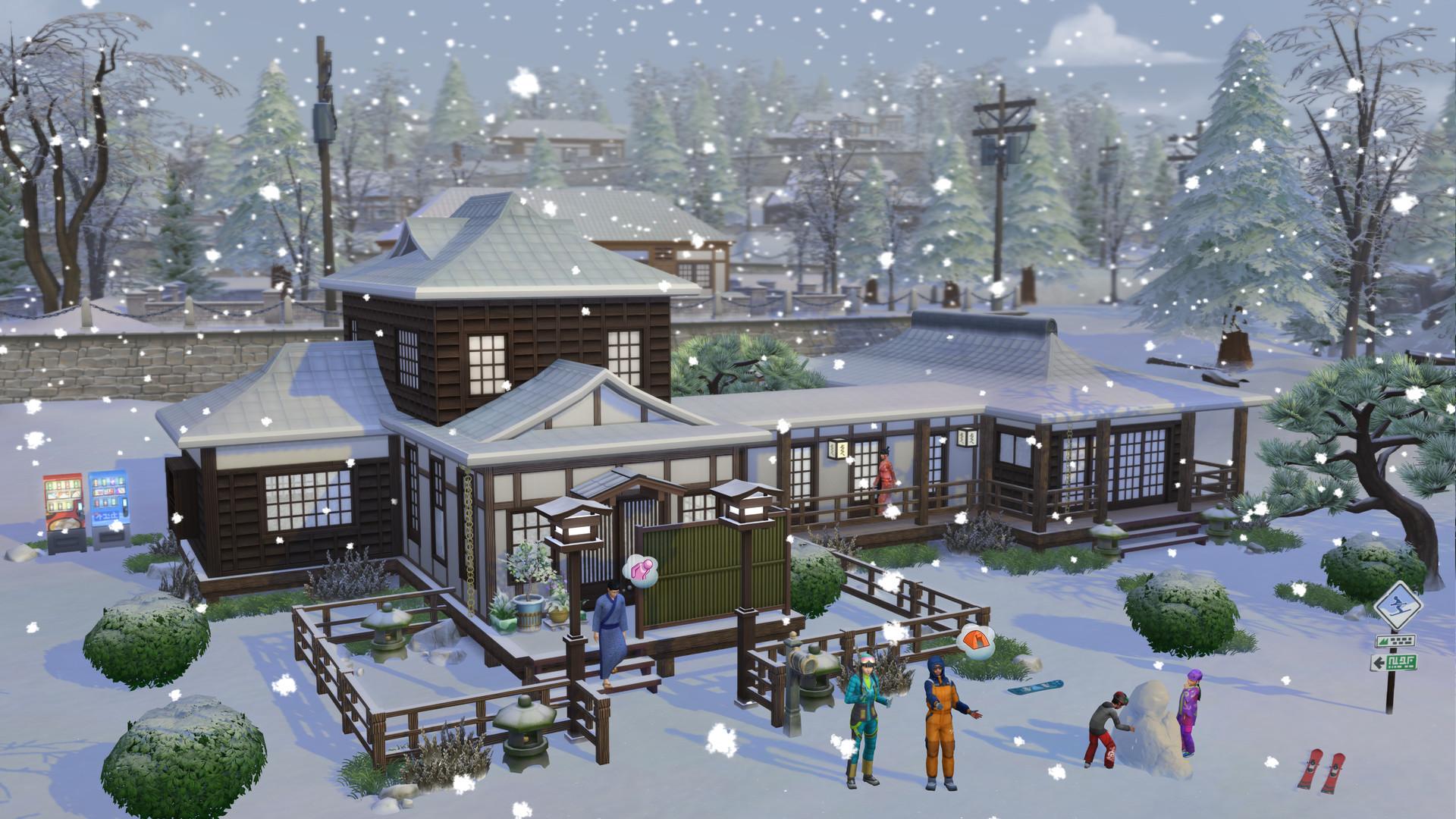 The Sims™ 4 Snowy Escape Expansion Pack PC Fiyatları